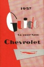 CHEVROLET 1957 Car Owner's Manual 57 Chevy