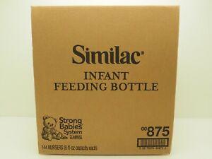 Abbott Similac 144 Count 8 oz. Plastic Infant Feeding Bottles Exp. 2023