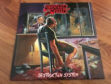 Morbid Saint Destruction System LP CLEAR vinyl sadus sodom death spectrum of
