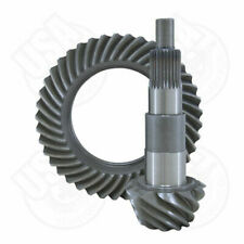 "USA standard ring & pinion gear set for Ford 7.5"" in a 4.11 ratio."