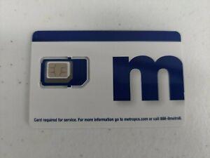 MetroPCS/MetroByT-Mobile Triple Cut SIM Card (BRAND NEW)