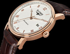 Elysee Monumentum 77005 Made in Germany Men's Automatic Watch Rose Gold NEW