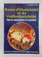 Bases Electricidad Y De Radioélectricité L. por lo Que Etsf 1976 París Francia