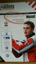 Southampton v Tranmere Rovers  Fa Cup 5th Round 2000 - 2001 Farewell to the dell