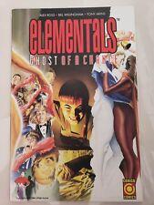 ELEMENTALS: GHOST OF A CHANCE #1 (1995) COMICO ORIGINAL ALEX ROSS COVER ART NM