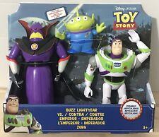 New Toy Story Buzz Lightyear Vs Emperor Zurg Includes Alien Disney Pixar Figures