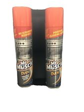 2 x Mr Muscle Oven Cleaner 300ml spray Grill BBQ Grease grime