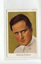 (Jd3629) SALEM,FILM STARS,ALPHONS FRYLAND,1930,#98