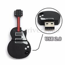 32GB Guitar Model USB 2.0 Memory Stick Flash Drive Pen U Disk Storage Thumb