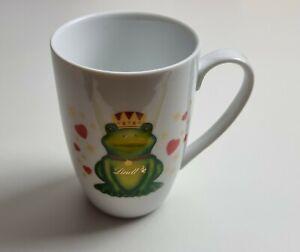 Tasse Lindt Becher Kaffeetasse Froschkönig Motiv Kaffe Becher Frosch ca. 12 cm