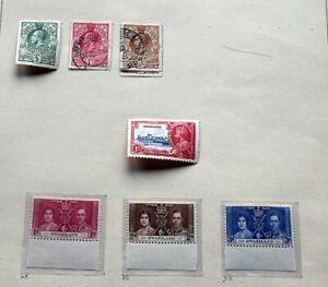 SWASILAND Nette Sammlung mit postfrischen Ausgaben