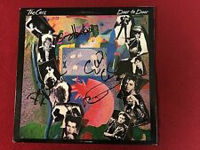THE CARS DOOR TO DOOR SIGNED LP X4 OCASEK EXACT PROOF