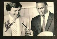 ROD THORN (w/ Jordan) NBA HOF Chicago Bulls Auto Autographed Signed 5x7 Photo