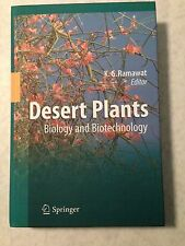 Desert Plants : Biology and Biotechnology (2010, Hardcover) Botany Cactus Agaves
