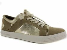 G By Guess Women's Marsha Basic Textile Athletic Shoes Gold Multi Size 8 M