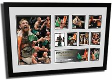 NEW CONOR MCGREGOR UFC THE NOTORIOUS SIGNED LIMITED EDITION FRAMED MEMORABILIA