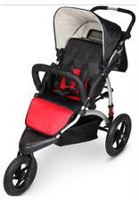 Poussette aluminium trois roues bébé enfant inclinable panier rangement VIALA R
