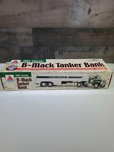 1999 CITGO 1961 CLASSIC B MACK TANKER BANK DIE CAST & PLASTIC 4TH in SERIES
