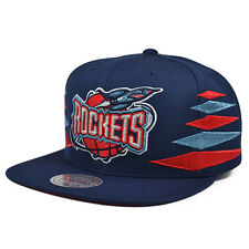 Houston Rockets VINTAGE DIAMOND SNAPBACK Mitchell & Ness NBA Hat