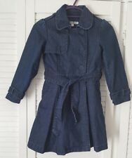 M&S Autograph Girl Denim Coat Aged 5-6 Years