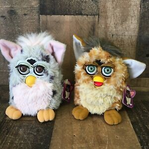 Furby Lot of 2 Vintage 1998 Model 70-800 Working Condition