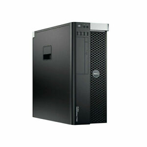 Dell Precision T3610 Xeon E5-1607 V2 3GHZ 32GB RAM 2 x 600GB SAS HD K4000 GAMING