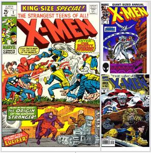 Uncanny X-Men Annual U PICK comic 1 2 3 4 5 6 7 8 9 10-18 VF/NM 1963 Marvel e734