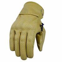 Cruiser Motorrad Leder Handschuhe Cafe Racer Motorrad Handschuhe Sommer Gloves