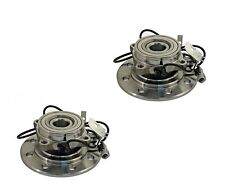 2 DTA Wheel Hub Bearing Assemblies Dodge Ram 3500 4WD Dual Front Pair Warranty
