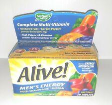 Brand NEW Nature's Way Alive! Men's Energy Multi-Vitamin Multi-Mineral 50 12/21