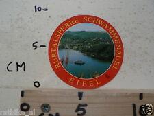 CARDBOARD PICTURE EIFEL RURTALSPERRE SCHWAMMENAUEL