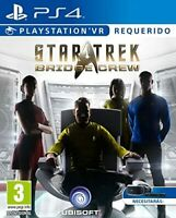 Star Trek: Bridge Crew Playstation VR (PS4) New Sealed