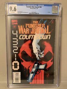 Punisher War Journal #80 CGC 9.6 NM+ Last Issue