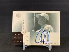 2001 UPPER DECK SP AUTHENTIC JJ HENRY SIGN OF THE TIMES AUTO