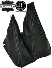 GREEN STITCH MANUAL GEAR & HI LOW LEATHER GAITERS FITS FORD RANGER 2006-2011