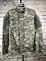MILITARY ISSUE DIGITAL CAMO ARMY COMBAT UNIFORM ACU JACKET COAT Size Small-Short