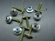6 pcs door belt body side moulding trim clips & nuts mastic sealer Mopar NOS 410