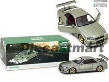 GREENLIGHT 1:18 1999 NISSAN SKYLINE GT-R (R34) GREEN DIECAST MODEL CAR 19033 NIB