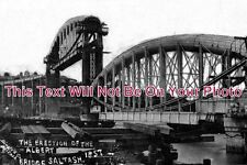 CO 361 - Erection Of The Albert Bridge, Saltash, Cornwall - 6x4 Photo