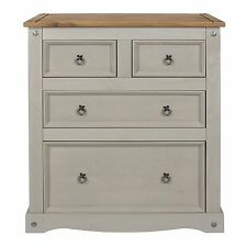 Premium Corona Solid Pine Grey Wash Bedroom Furniture Plus * UK Delivery 2 2 Chest