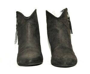 GREAT LADIES ASH BLACK SUEDE ANKLE BOOTS LEATHER SIZE UK 5  EU 38
