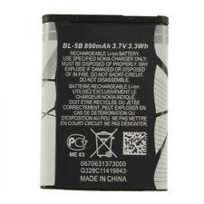 New 3.7V 890 mAh BL-5B BL5B Battery For Nokia N90 3230 5300 5070 6121 6080 O9