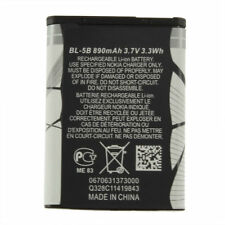 New 3.7V 890 mAh BL-5B BL5B Battery For Nokia N90 3230 5300 5070 6121 6080 WA