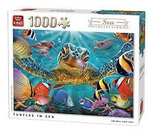 1000 pezzi di Mare Collezione Puzzle-TARTARUGHE IN MARE PESCI TROPICALI 05617