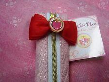 Sailor Moon Ribbon Pen Case Pouch Chibi Moon 20th Anniversary Kawaii Rare Limit