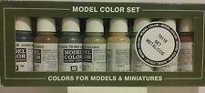 Vallejo acrylic paint 70.118,  Metallic colors set.