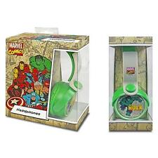 Marvel Comics The Hulk Headphones Ear Phones Plug Mp3 Ipod Audio Dj Music Sound