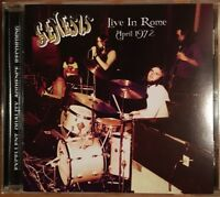 """GENESIS : """"Live In Rome 1972"""" (RARE CD)"""