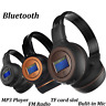 Bluetooth 3.0 Wireless Stereo Headset Kopfhörer Mit Call Microphone MIC MP3 FM