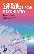 Critical Appraisal for Psychiatrists (MRCPSY Study Guides), Acceptable, Stephen